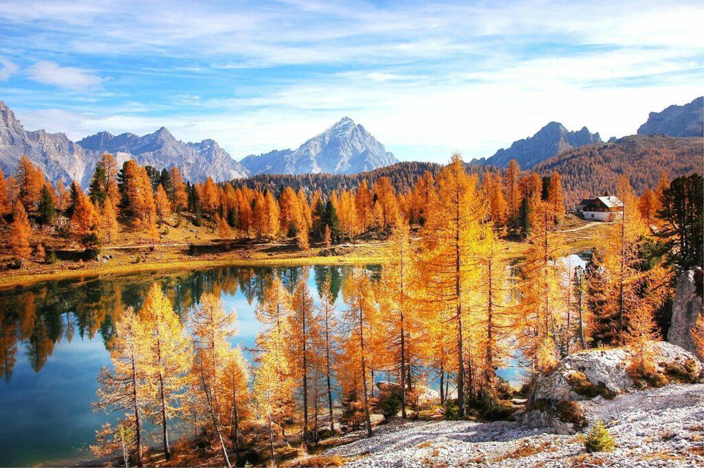 Photo of the Dolomites